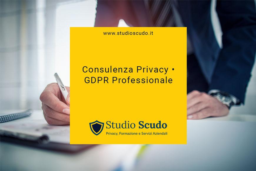 Consulenza privacy e GDPR