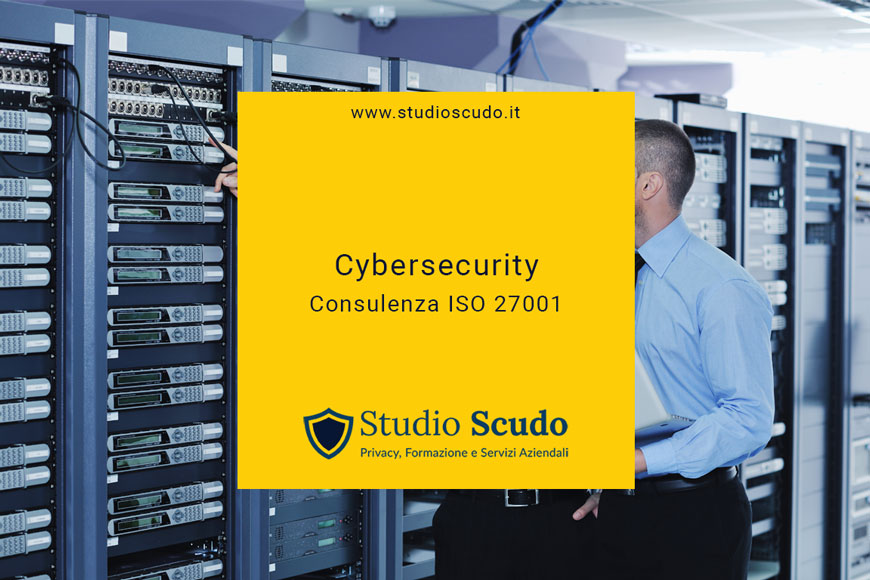 cybersecurity consulenza ISO 27001