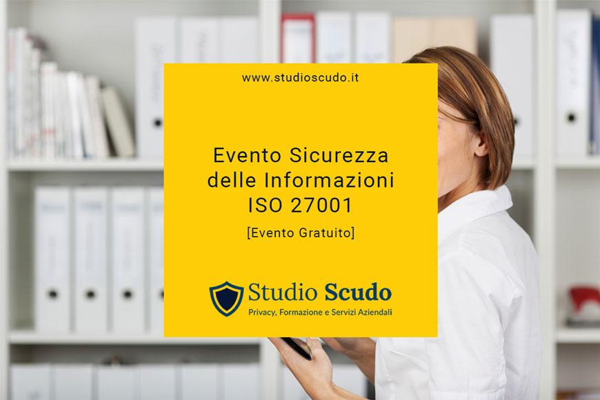 evento sicurezza informazioni ISO 27001 - evento gratuito Padova
